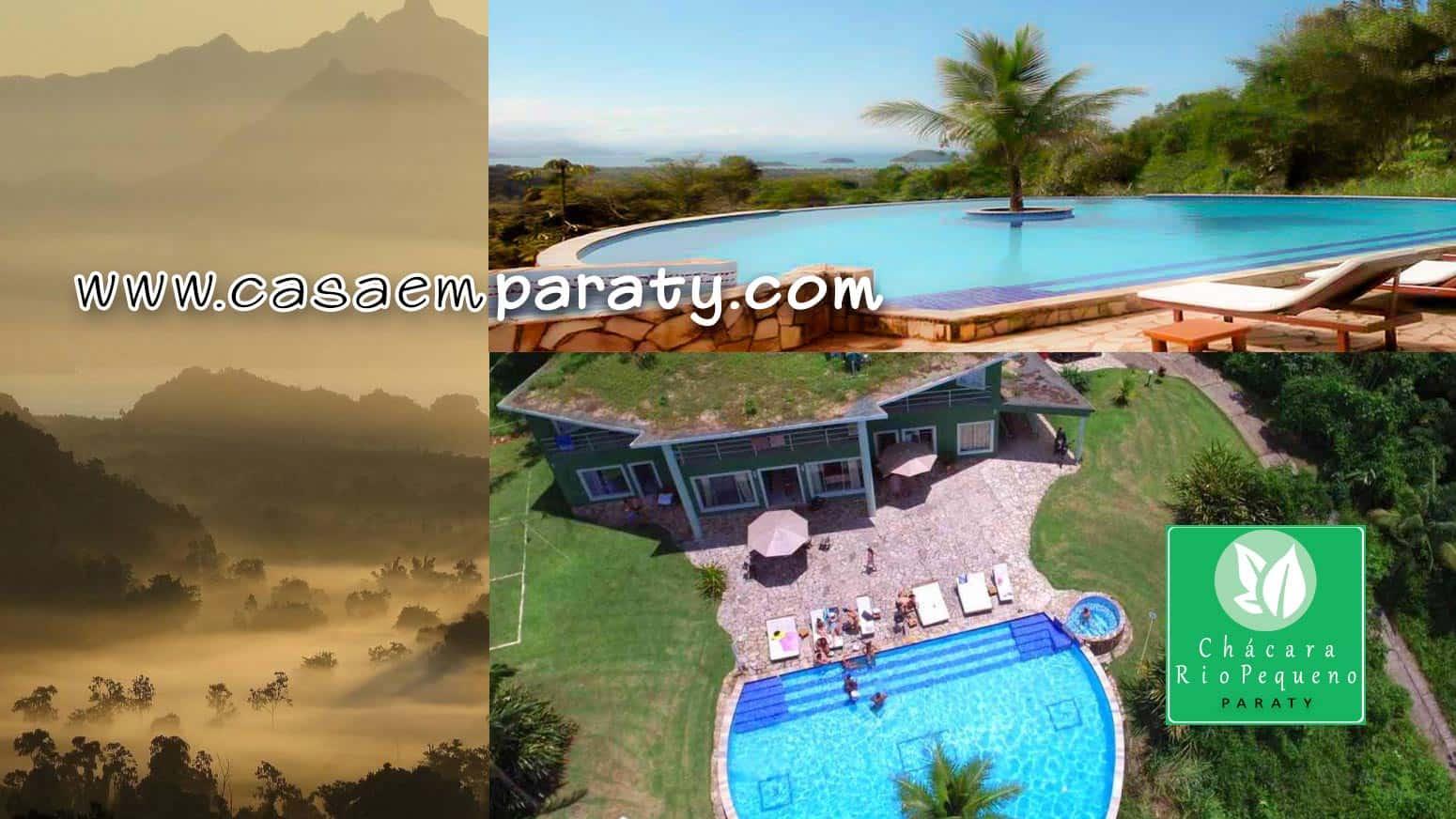 Casa de Luxo para aluguel de tempoarada em Paraty