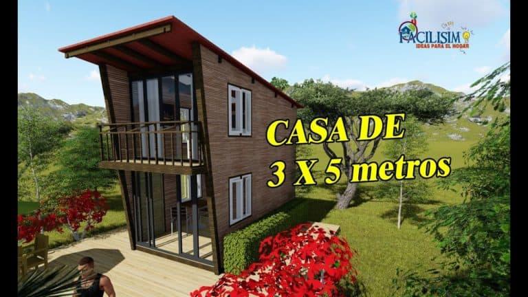 Onde cabe uma casa 5x5 com certeza cabe essa casa de 3x5