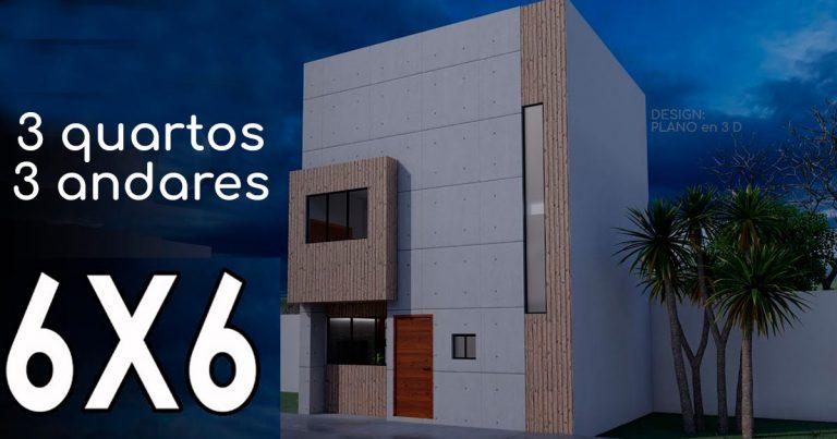 Como a casa 5x5, é muito procurado também a casa 6x6
