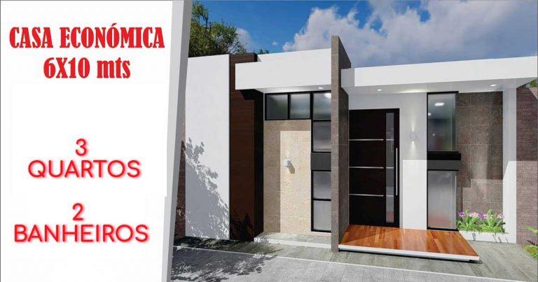 Casa-econômica-6m-por-10-m-3-quartos-2-banheiros
